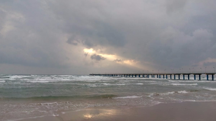 Анапа. Перед штормом Анапа, Шторм, Черное море, Краснодарский Край