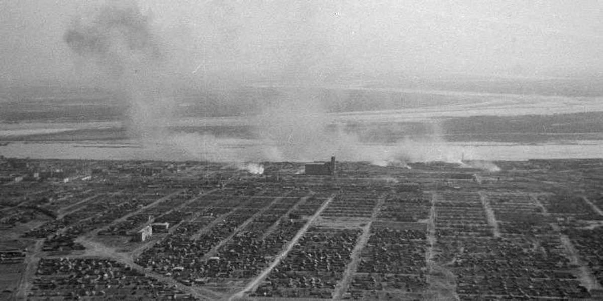 Бои за элеватор в сталинграде и его история 1942г ограждение ленточных конвейеров и движущихся частей