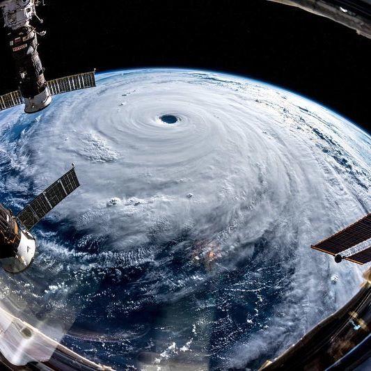 Супер тайфун Трами над Японией