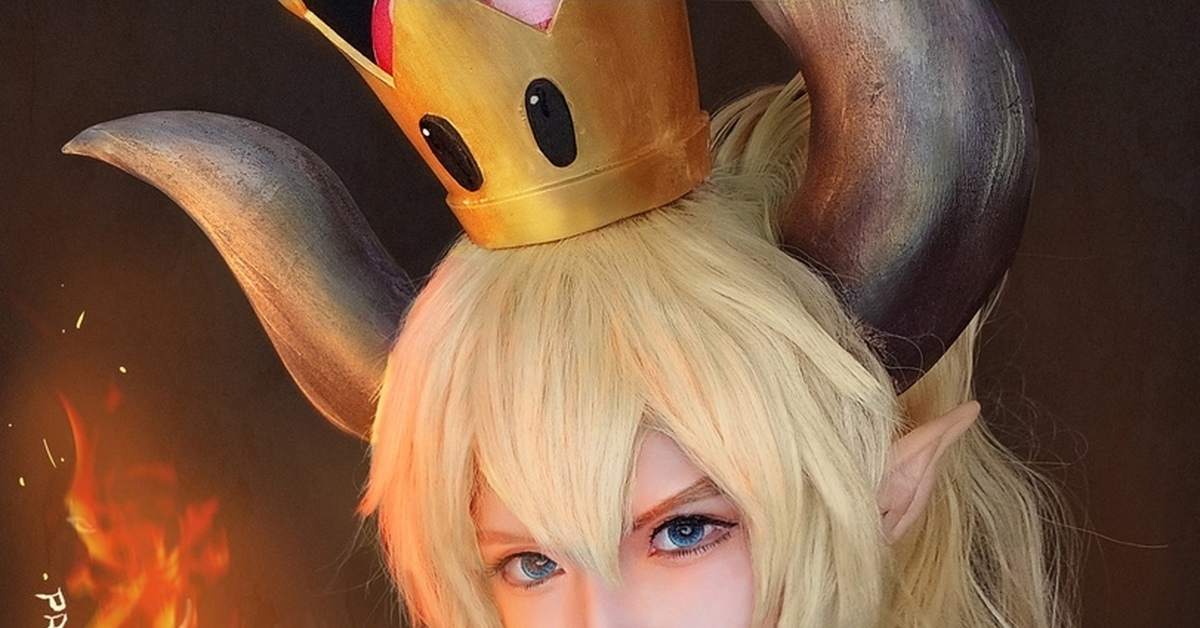 Bowsette By Tara Cosplay Freeomovie 1