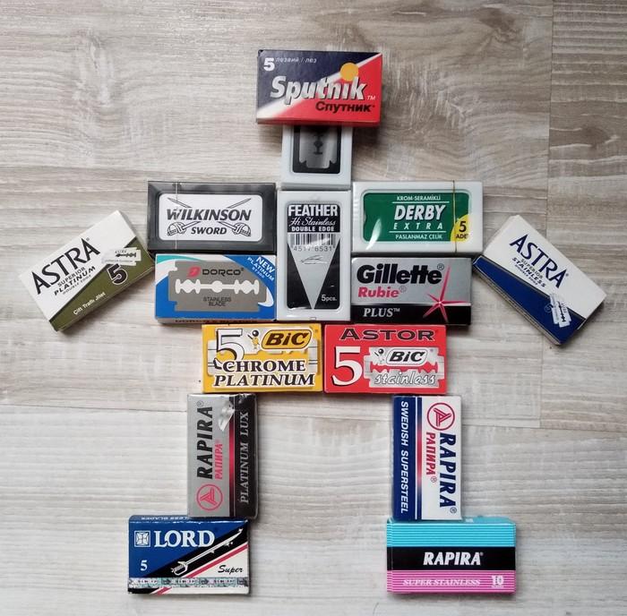 Самые распространенные и популярные лезвия для бритвенных станков Бритье, Лезвие, Коллекция, Поиск, Популярное, Распространенные, Испытание, Тестирование