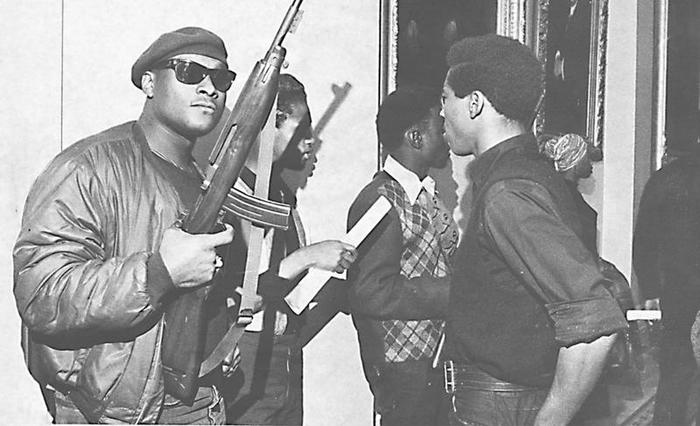 """История настоящей """"черной пантеры"""" и улицы политые кровью полиции США. История, США, Расизм, Афроамериканцы, Хип хоп, Рэп, Длиннопост"""