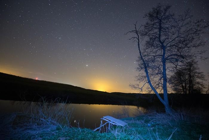 Спокойной ночи Пикабу Удачных выходных.И пусть ваш путь всегда освещают звезды.