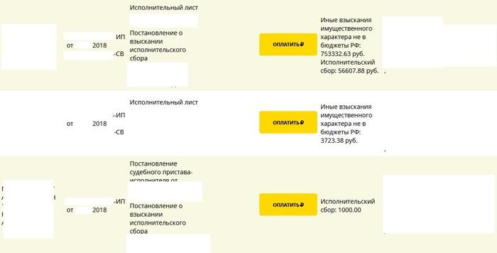 Миллионер из трущоб ВТБ 24, Банк, Судебные приставы, Счет, Длиннопост, Негатив