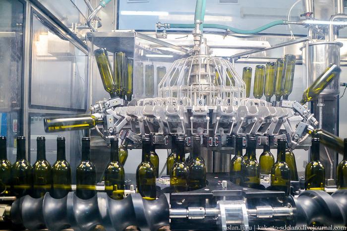 Как делают вино. Часть 5 - розлив вина в бутылки, кюве, дегоржаж, ремюаж Вино, Виноград, Длиннопост, Сельское хозяйство, Виноградник