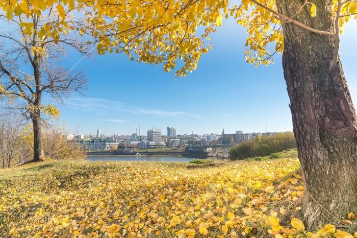 Осень в Чебоксарах Осень, Чебоксары, Чувашия, Sony, Городские пейзажи, Длиннопост