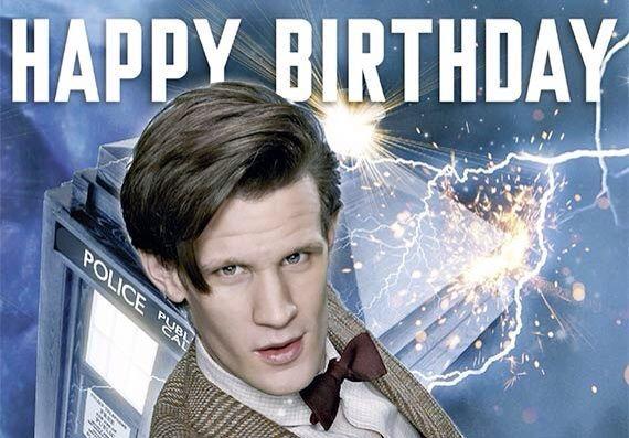 Happy birthday to happy Doctor Доктор Кто, Одиннадцатый Доктор, Мэтт Смит, Бабочки - это круто, День рождения, Картинки, Длиннопост