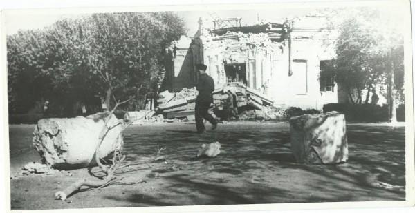 Ашхабадское землетрясение в 1948 году. Ашхабад, Туркменистан, СССР, Землетрясение, Длиннопост