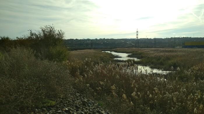 Что будет если долго идти по рельсам.. Новочеркасск, Пейзаж, Поезд, Озеро, Поход, Длиннопост