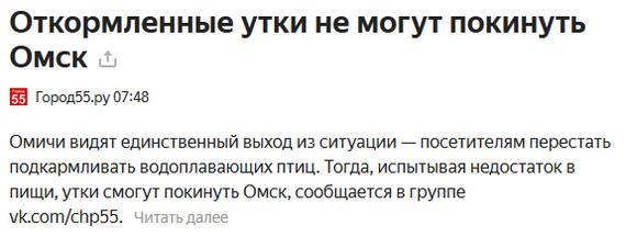 Найдена причина Омск, Не пытайтесь покинуть Омск
