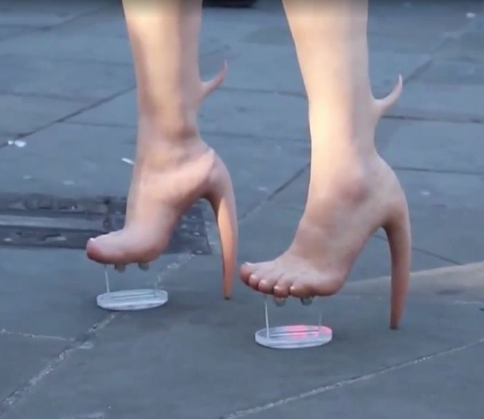 Жуткие туфельки Обувь, Новинка:D, Страшная мода