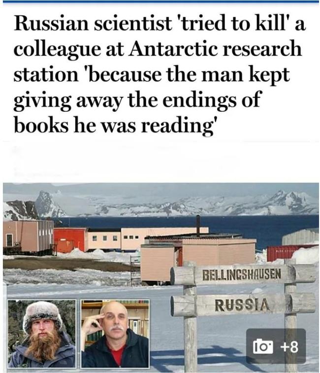 Ибо нех... Антарктида, Спойлер, Ученые, Перевод, Версия, 9gag