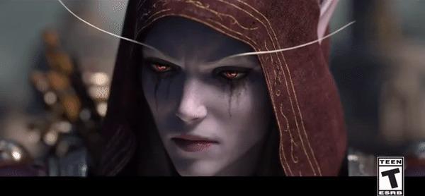 Когда она узнала, что тебе пишет бывшая WOW, World of Warcraft, Гифка, Игры, Онлайн-Игры