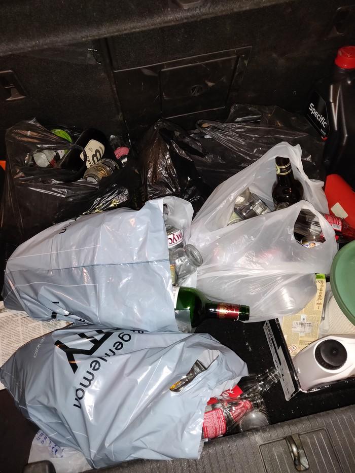 Как я решил поучаствовать в экоакции Раздельный сбор мусора, Акции, Обман, Экология, Стекло, Пустые бутылки, Длиннопост