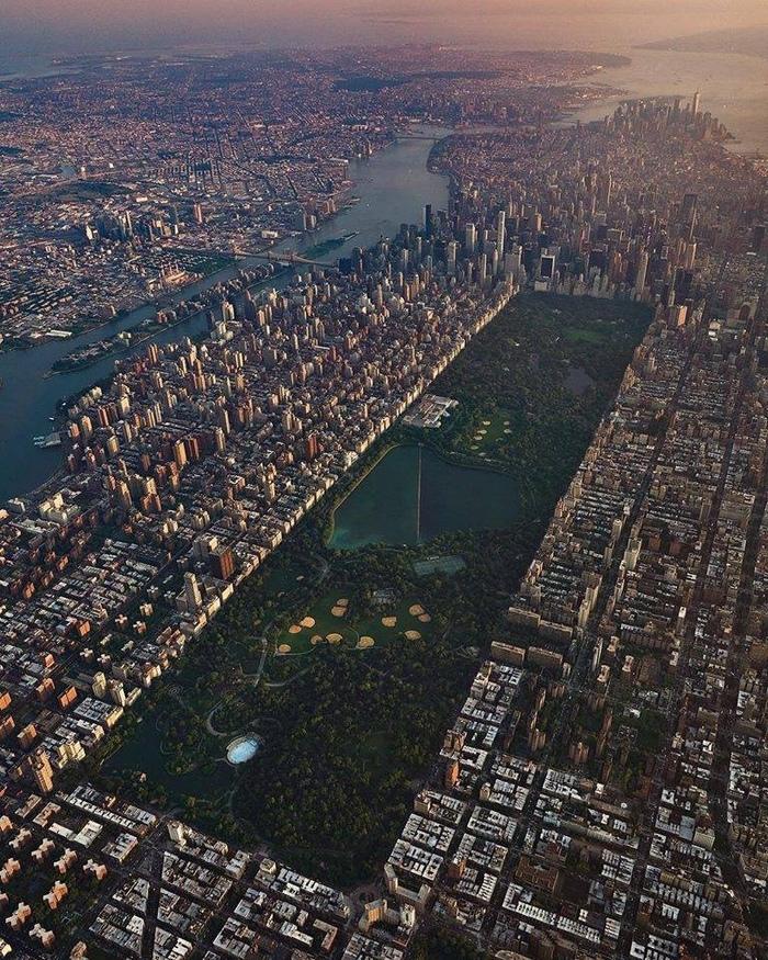 Центральный парк, Нью-Йорк, США.