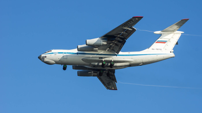 ИЛ-76МД RA-76772 Самолет, Споттинг, Ил-76, Сочи