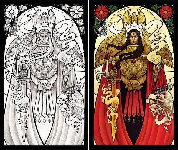 Чудодейственная икона Блаженного Императора. Пастыря Человечества