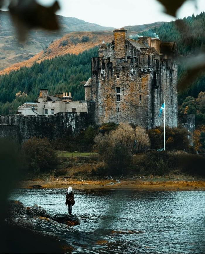 Замок Эйлен-Донан, Шотландия Замок, Шотландия, Фотография, История, Красота, Старина