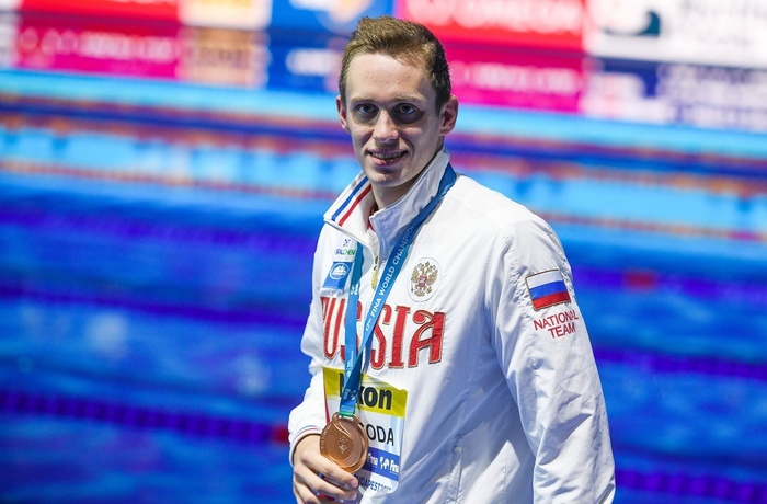 Кирилл Пригода выиграл золото этапа Кубка мира в Пекине Спорт, Плавание
