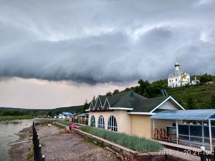 Грозовой фронт Гроза, Церковь, Длиннопост