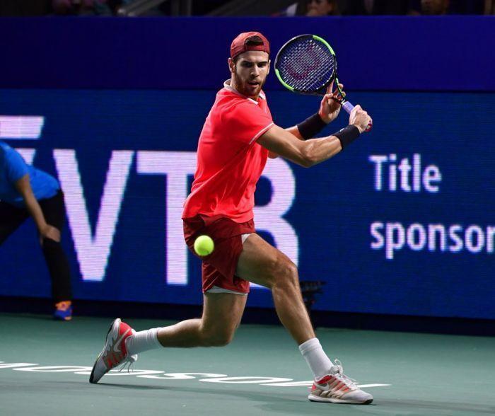 Российский теннисист Карен Хачанов выиграл Мастерс1000 в Париже Теннис, Хачанов, Новак Джокович, Спорт