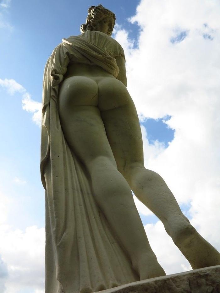 В античное время знали толк в скульптурах... Скульптура, Древняя греция, История, Статуя, Попа