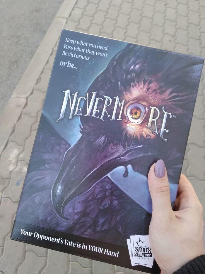 Nevermore от Smirk&Dagger Games. Быстрая игра в мрачной тематике Настольные игры, Настолки, Эдгар Алан по, Длиннопост