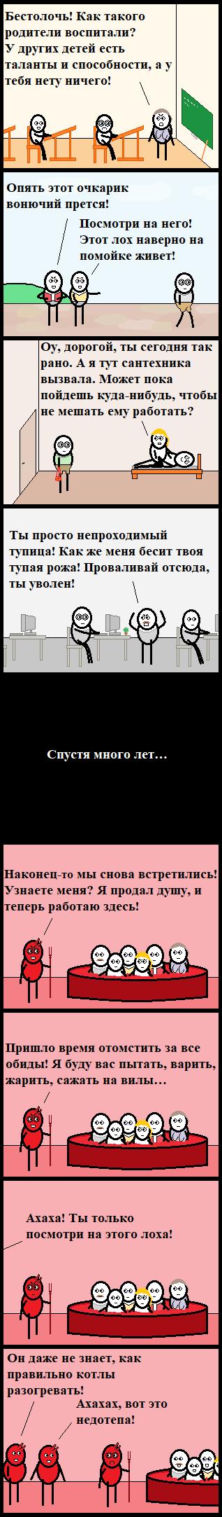 Неудачливое Длиннопост, Cynicmansion, Комиксы