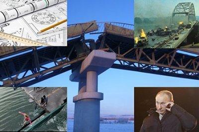 Упадет ли Керченский мост? Хроника выдуманной трагедии Крымский мост, Строительство, Слухи, Длиннопост