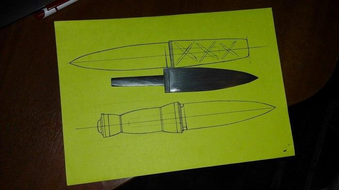 Нож из ничего Нож, Своими руками, Длиннопост