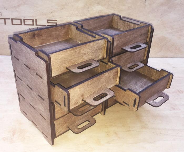 Просто модульный органайзер. Часть 2. Органайзер, Органайзеры, Фанера, Рукоделие без процесса, Рабочее место, Длиннопост