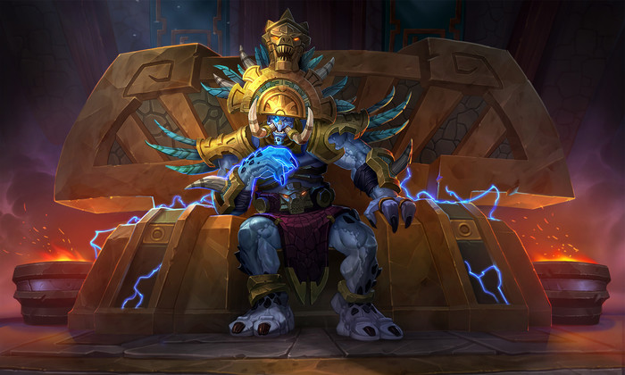 King Rastakhan by AJ Nazzaro World of WarCraft, King Rastakhan, Zandalari Empire, Тролль, Zandalar, Blizzard, Game Art