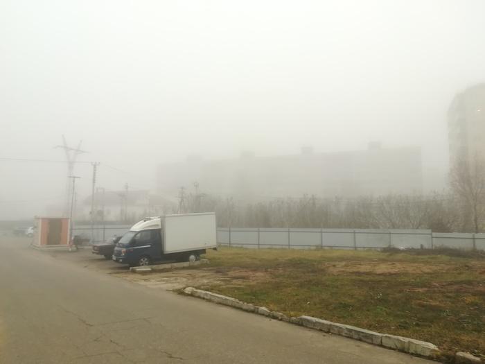 Внезапный туман Туман, Фотография, Фото на тапок, Длиннопост