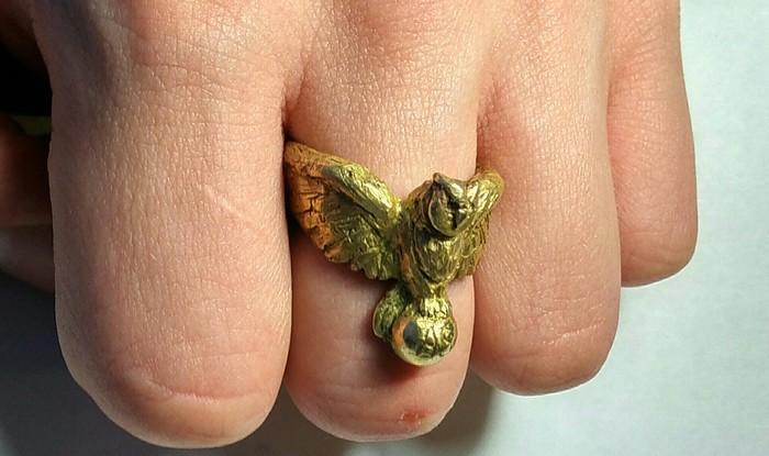 Как кольцо я отливал Самоделки, Длиннопост, Кольцо