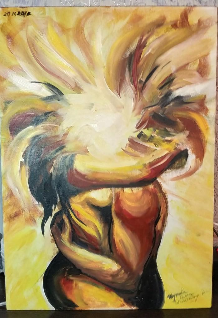Чувства Чувства, Картина маслом, Солнце, Любовь, Пара, Картина, Масло