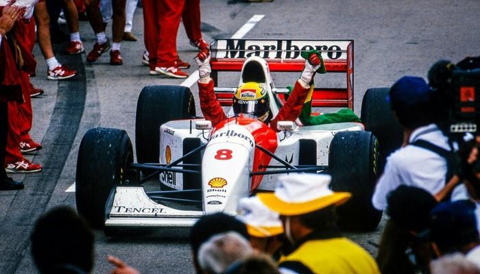 7 ноября 1993 года Айртон Сенна да Силва одержал свою последнюю победу в Формуле 1. Айртон Сенна, Победа, Формула 1, Ален Прост, Длиннопост