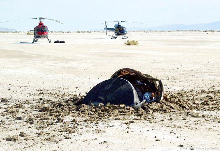 НАСА опубликовало фото «разбившейся летающей тарелки» в пустыне NASA, НЛО, Юмор, Шутка