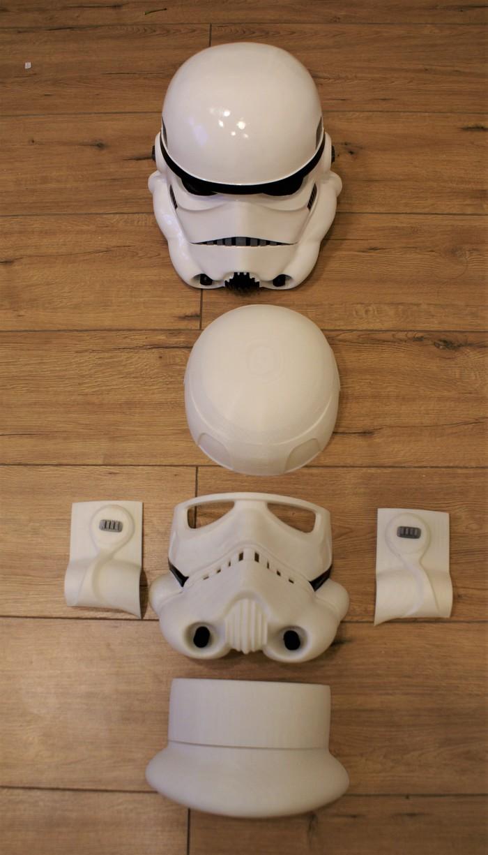 В дополнении к моему предыдущему посту 3D принтер, Star Wars, Длиннопост, Stormtroper, Косплей