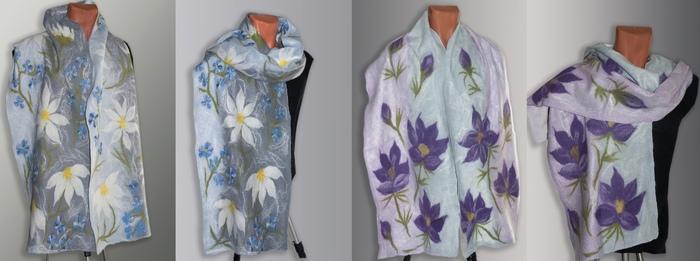 Уютный и тёплый шарф Одежда, Творчество, Арт, Handmade, Валяние, Рукоделие без процесса, Длиннопост, Валяние из шерсти