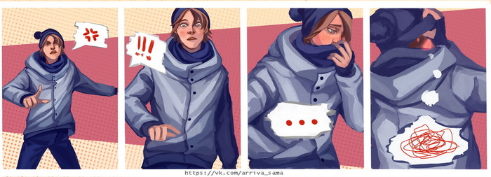 Самоиспытание ч.3 (осторожно, длиннопост!) Рисунок, Творчество, Длиннопост, Original Character, Challenge, Цифровой рисунок