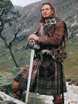 Шотландец с головы до ног Национальные костюмы, История, Шотландия, Необычная одежда, Длиннопост