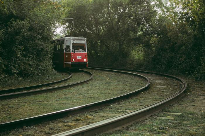 Седьмой трамвай Трамвай, Омск, Фотография, Советская оптика, Творчество