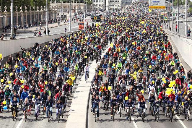 Московский Велопарад под угрозой: организаторы рассказали о конфликте с Дептрансом Велопарад, Велосипед, Москва, Велодорожка, Длиннопост