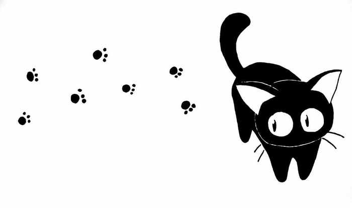 Эй! Помоги выбраться отсюда… Сон, Черный кот, Собаки против кошек