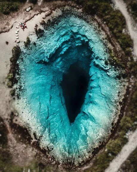 Голубая дыра, Хорватия.