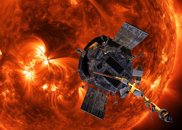Зонд «Паркер» впервые сблизился с Солнцем Наука, Новости, Космос, Солнце, Зонд Паркер, Астрономия