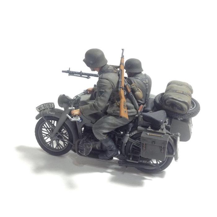 Маленькое хобби. Мотоцикл с экипажем Sunkpainting, Sunk, Мото, Bmw-R12, Моделизм, Хобби, Длиннопост