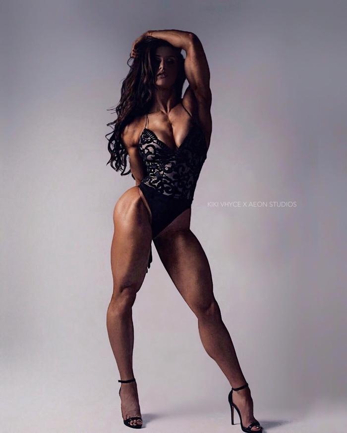 Kiki Vhyce (@kikivhyce) Kiki Vhyce, Крепкая девушка, Девушки, Красивая девушка, Спортивные девушки, Фотография, Девушка-Бодибилдер, Длиннопост