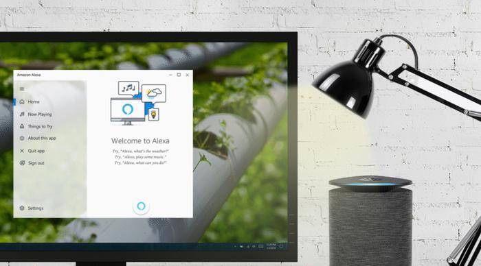 Алекса теперь на Win10 Amazon, Alexa, Windows 10