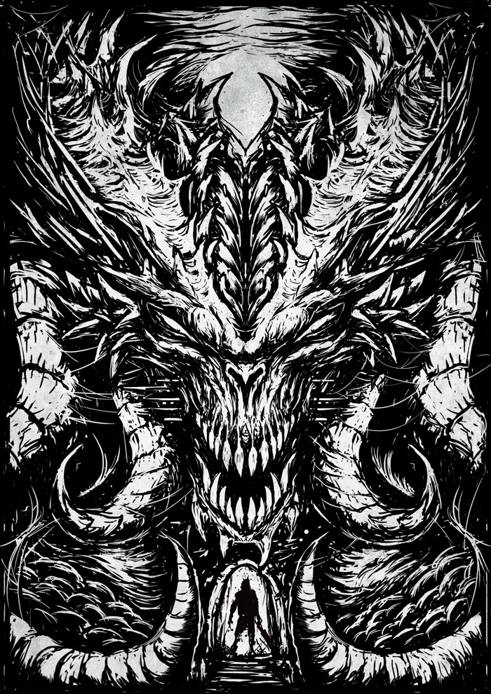 Diablo Diablo, Постер, Длиннопост, Рисунок, Цифровой рисунок, Игры